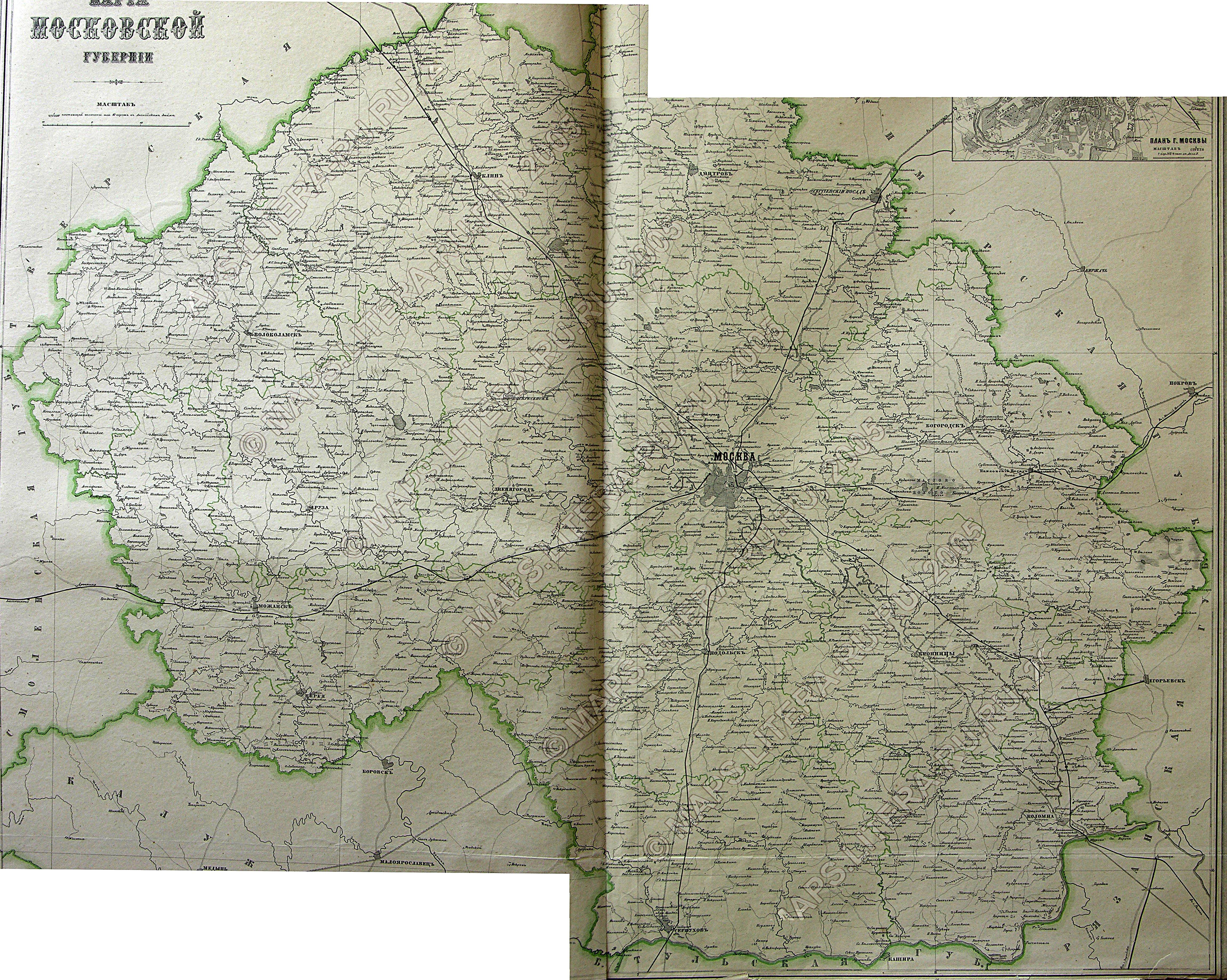 карта калужской губернии 1678 из книги щепкиной является